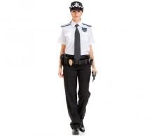 Özel Güvenlik Gömleği Beyaz Kravat Yaka Yazlık