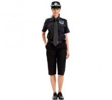 Özel Güvenlik Yazlık Bermuda Kabri Şort Pantolon Siyah Gömlek