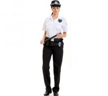 Özel Güvenlik Gömleği Beyaz Apaş Yaka Yazlık