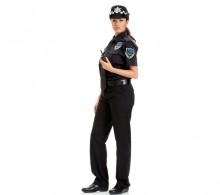 Özel Güvenlik Bayan Gömleği Siyah Kravat Yaka Yazlık